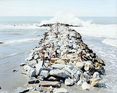 Massimo Vitali Onda 2, 2005 180x150cm220x180cm