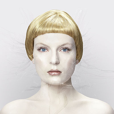 bionic angel, lightjet-print, edition 6 + 2 ap, 150 x 150 cm