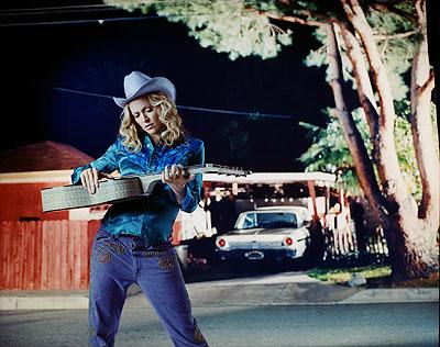 Jean-Baptiste Mondino Madonna, 2002, c-print mounted to dibond plexi, 42 x 51 inches, edition Courtesy of M&B Los Angeles