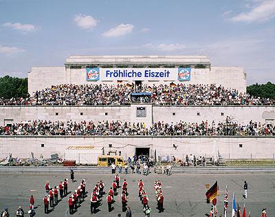 Zeppelintribüne Nürnberg, 2002 Teil des ehemaligen