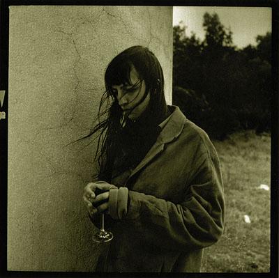 Tereza, Collonade Raistna, Valtice, Czech Republic, 1997