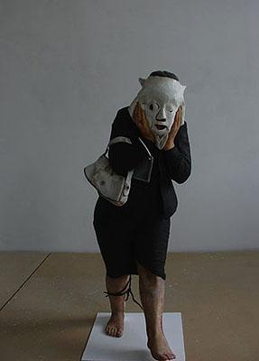 Anna BaumgartWeronika AP, 2006Sculpture, polystyrene, 110 cm highCourtesy: lokal 30, Warsaw