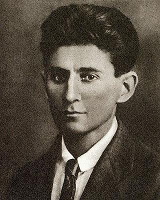 Franz Kafka, Paßbild, um 1917, Staatsarchiv, Prag