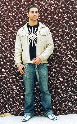 Serkan, 20 Jahre, Türkei 40 x 50 cm, aus der Serie: Wurzeln 2 © Irina Ruppert
