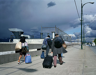 Jeff WallOverpass, 2001Transparency in lightbox214 x 273,5 cm© Jeff Wall