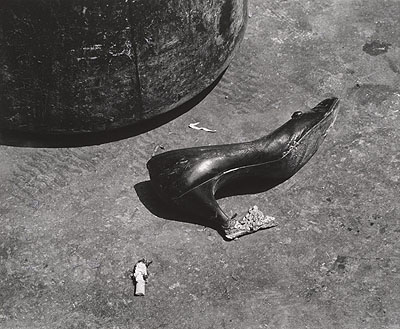 Shomei Tomatsu, Untitled, from the series On the Road, Tokyo,1962, printed 1995; gelatin silver print; 11 7/8 x 14 7/16 in.; courtesy of the artist; C Shomei Tomatsu