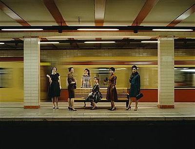 Women in S-Bahn Video still from