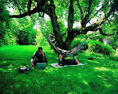 Under the tree, 2006 C-print 125 x 160cm