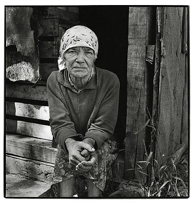 Matrjona Vasiljeva, Balvi, Latvia, 1986from the series: My Country People