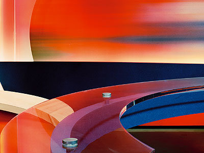 Caroline Hake, MONITOR, Monitor VI, 120 X 160 cm, c-print, 2000