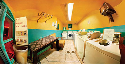 Desert Motel laundry Room, 2007, C-Print, 48