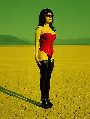 Breaunna, Desert near Las Vegas, 2001183x244 cm - (72x96 in)C-PrintEdition of 5