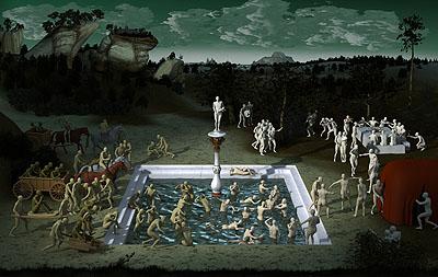 Miao Xiaochun, Fountain of Youth, 2007, C-Print, 228 x 360 cm