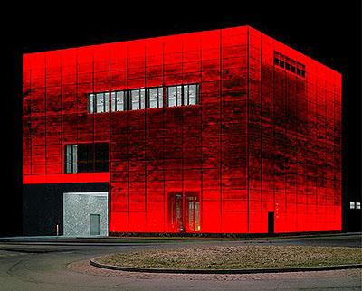 Bâle, Suisse, novembre 2003. Trompe-l'œil series.Lambda print. 76 x 91 cm