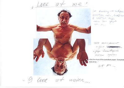 Boris Mikhailov, aus: Look at me I look at Water  1999 / 2000, © VG Bild-Kunst, Bonn