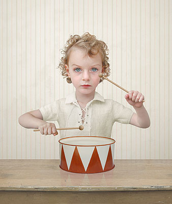 The Drummer, 2004 @ Loretta Lux / Courtesy of Yossi Milo Gallery, New York and Torch Gallery, Amsterdam