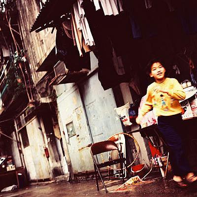 Stadt Träume Hongkong # 9 , 2002, C-Handabzug