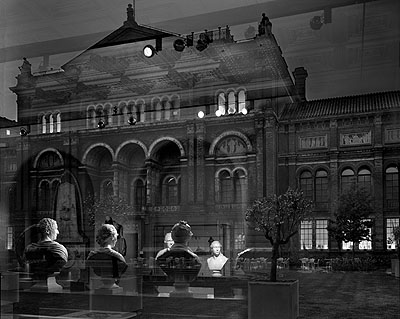 Reflection, Victoria and Albert Museum, 2007© Matthew Pillsbury