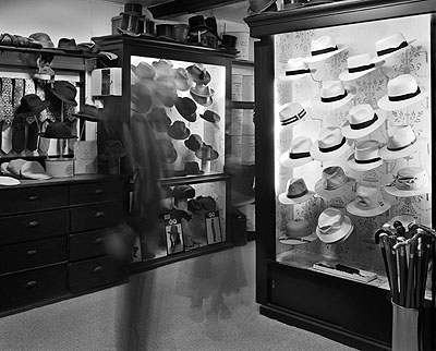 Deon, James Lock & Co, London 2007© Matthew Pillsbury