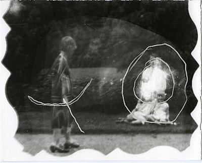 Gerald Slota Untitled (The Archer), 2005 Unique gelatin silver print  8 x 10