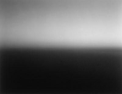 Hiroshi Sugimoto, Mediterrean Sea, La Ciotat, Gelatin silver print, 1989 (auction 912, Lot 1090)