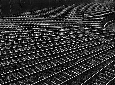 Schienen Spinne, Aug 1950