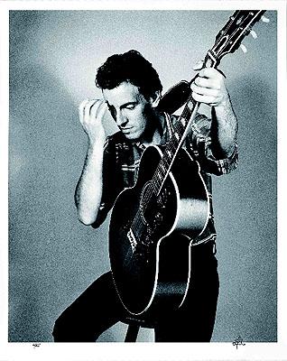 © Frank Stefanko . Bruce Springsteen