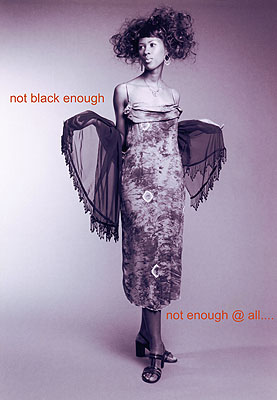 Nontsikelelo Veleko, Black not enough @ all, 2002, photo, courtesy Goodman Gallery