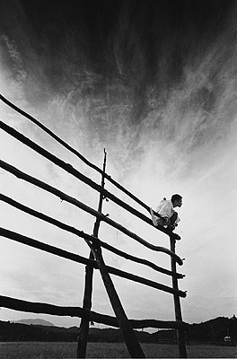 Untitled, (from the series Kamaitachi) Tohuku 1965© Eikoh Hosoe courtesy Studio Equis