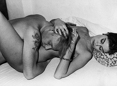Ben Becker with Girlfriend, Hamburg, 1985© Roswitha Hecke