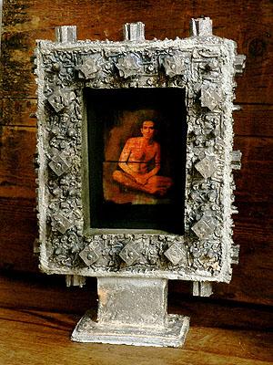 Guillaume II  , Pièce unique , épreuve argentique peinte, plomb. © G.M.Martin 2007