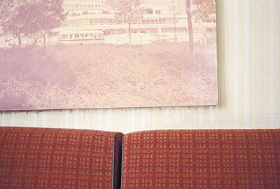 Petra Karadimas 'Rotes Sofa', 2006, Lambda C-Print, 58 x 86cm