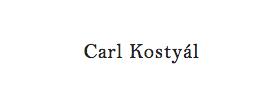 Carl Kostyál