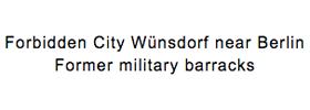 Ehemalige Militärkaserne