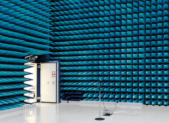 Vincent Fournier: SPACE PROJECT - Anechoic Chamber, European Space Research and Technology Centre [ESTEC], Noordwijk, the Netherlands 2008