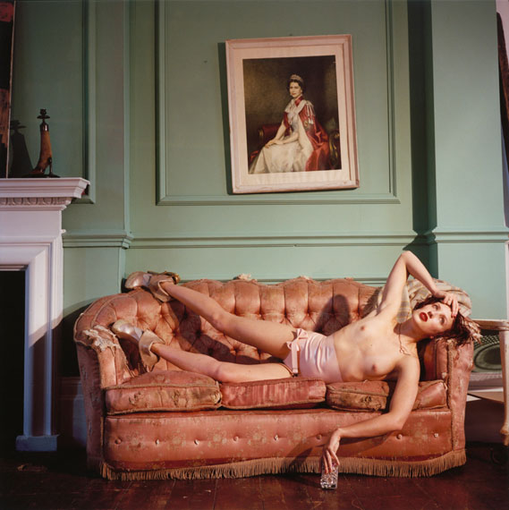 © Bettina Rheims, Bonkers - A Fortnight in LondonGeorgie Bee Wearing her own amazing Shoes 2013