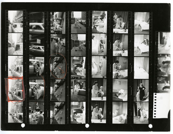 Exhibition Magnum Contact Sheets Artist News