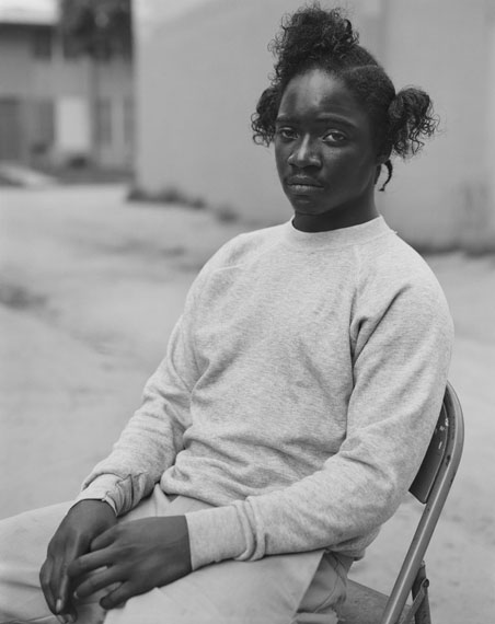 Toussaint, 1993, from the series Imperial Courts, 1993-2013 © Dana Lixenberg/Robert Morat Galerie