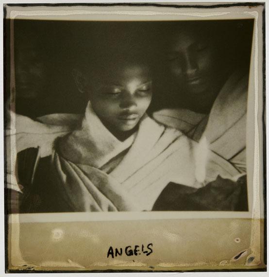 "Caroline Halley des Fontaines: ""Angels"", 2010/ POLAROIDS Series 1 (7x9cm)"