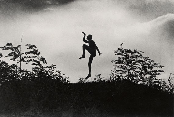 Dancing faun my brother Jeno di Andre Kertesz
