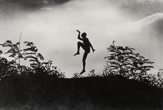 André Kertész: Dancing Faun My brother Jenő, Dunaharaszti, 1919