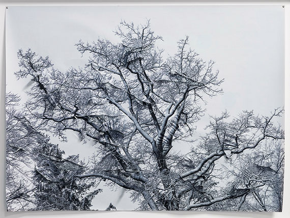 'Winter', Paper, unique © Hubertus Hamm