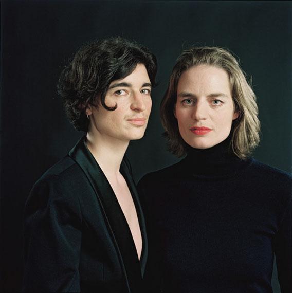 Schein und Sein, Andrea und Anita, München 2007 © Herlinde Koelbl
