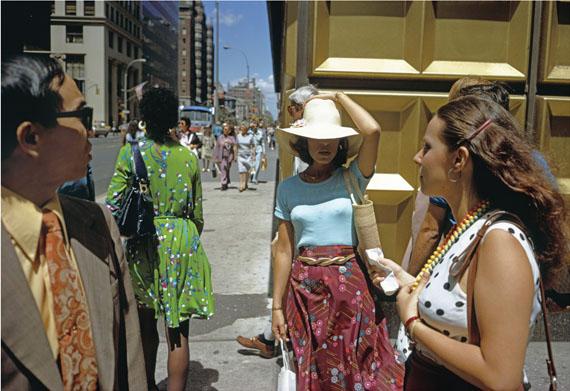 Edition 1: Gold Corner, 1974 © Joel Meyerowitz