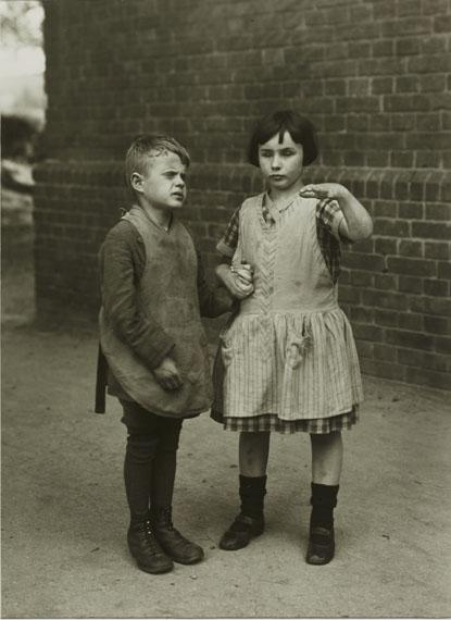 August Sander Children Born Blind, c. 1930Gelatin Silver Print, printed later© 2014 VG Bild-Kunst, Bonn, Die Photographische Sammlung/SK Stiftung Kultur, CologneCourtesy by FEROZ Galerie, Bonn