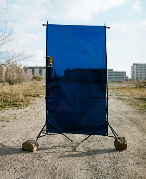 "Eva Engelbert, ""Tokyo Blue"", 2013, C-Print, 125 x 100 cm"