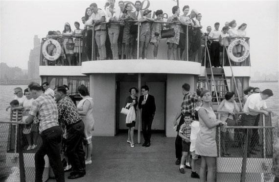 Garry Winogrand Staten Island Ferry, New York, 1971/1974 Gelatin silver print Edition of 758.5 x 12.75 in. Est. 10,000–15,000 USD
