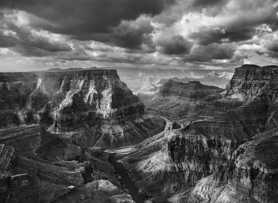 View of the junction of the Colorado and the Little Colorado from the Navajo territory.The Grand Canyon National Park begins after this junction. Arizona. USA. 2010.© Sebastião Salgado / Amazonas images