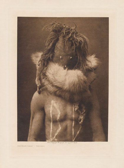 Edward S. Curtis, The North American Indian, Volumes 1-20, first signed by Curtis and Theodore Roosevelt, 1907-1930. Estimate $250,000 to $350,000.