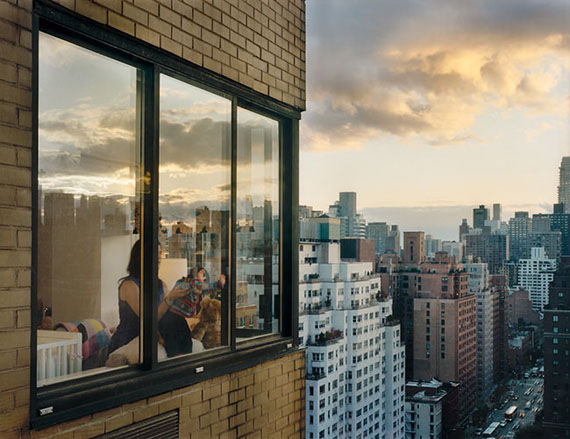 Gail Albert Halaban, Baby at Window, 2008, Out my Window series